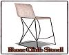 Rose Club Stool