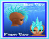 Blue Raspberry Mohawk