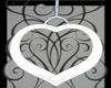 Valentine Heart Swing Wh