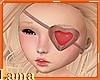 💘 Valentine Eye Patch
