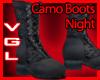 Camo Boots Night