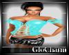 Glo* Corset Top ~Aqua