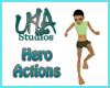 Hero Actions