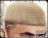 Bowl Cut Blonde