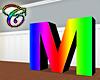Rainbow M Animated