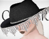 !A hat with crystals