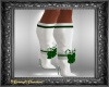 Candy Cane Boots w Green