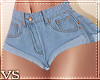 {VS} Jean Shorts