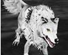 Animated White Wolf pet