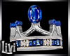 King Sapphire Wed Ring