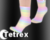T; Pastel Socks