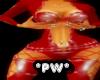 *PW*Pvc Hottie Red