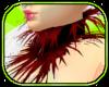 Flutter Red Fur Collar