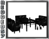 Gothic Low Table Chairs