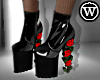 ⓦ WALK ON ROSES Boots