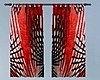 Red/Black Curtains