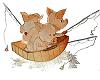 poster 3petits cochons