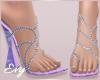 Spring Floral Heels
