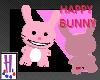 Happy Bunny Pet - Pink