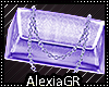 [A] Silk Purple Bag