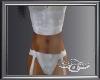 ~a~ White Tart Suit - M