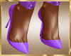 A89 Purple Pumps Shoes