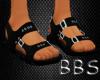 [BBS] Black Sandals