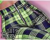 """""""XL"""" Neon Check Pants ."""