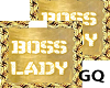 Plated GoldName BOSSLADY