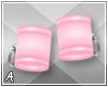 A| Pink Wrist Cuffs (F)