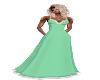 Mint green Snow dress