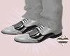 Gray & Black Shoes