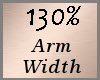 Arm Scale 130% F