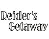 REIDER'S GETAWAY BANNER