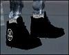Black Pentagram Shoes
