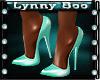 !Mya Aqua Heels