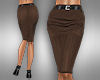 !Pencil Skirt brownearth