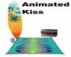 Surfer Beach Kiss Towel2