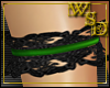 Green & Black Garter R