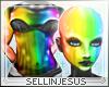 $J Rainbow Rave Skin