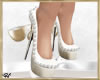~H~Wedding Shoes White