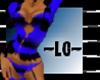 ~LG~ BLUE/BLK FURFIT