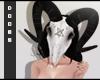 Ram mask - pentagram