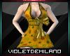 XXL YELLOW DRESS W/BOW