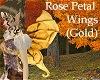 Rose Petal Wings -Gold