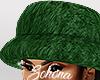 ṩFur Hat Green