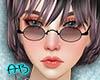 [AB]90'S Glasses Grey
