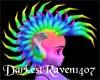 Rainbow Mohawk!!!