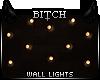 !B Fall Wall Light Strng