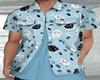 Couple Blue Shirt Male